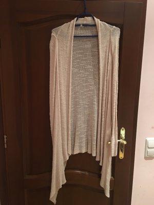 Zara Veste en tricot rose chair-beige