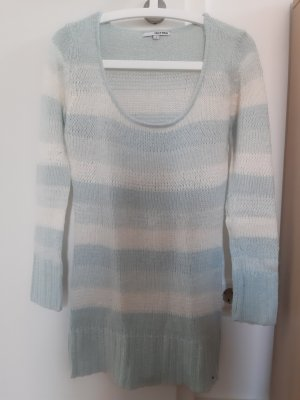 Tally Weijl Coarse Knitted Sweater natural white-pale green polyacrylic