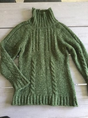 Strick Pullover in grün, ungetragen