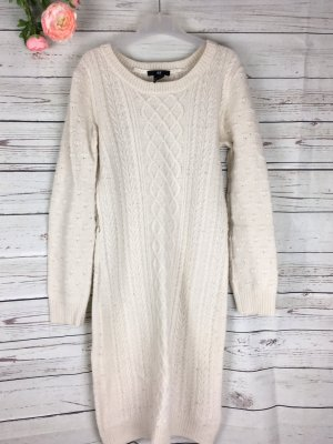 Strick Pullover Knitware Stretch Creme H&M