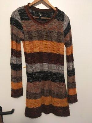 Strick-Pullover lang