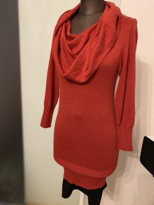 Apart Long Sweater brick red