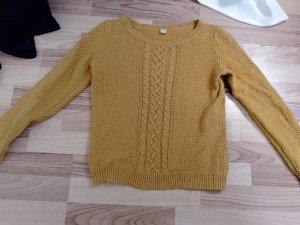 strick pullover s.oliver gelb