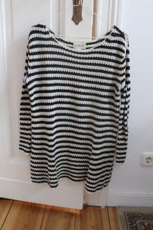 Strick Pullover Shirt von original Ralph Lauren Gr. S schwarz weiß gestreift *Herbst*