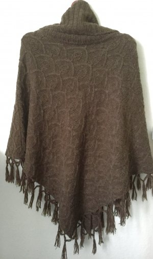 Orsay Poncho lichtbruin-brons