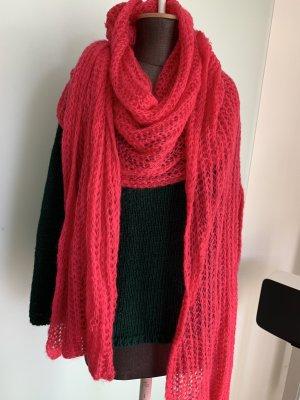 Strick Schal in pink von H&M