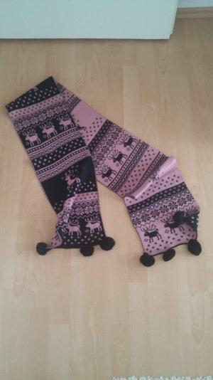 Accessorize Écharpe en tricot brun-rose