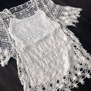 Knitted Jumper white