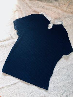 Strick Shirt mir Kragen