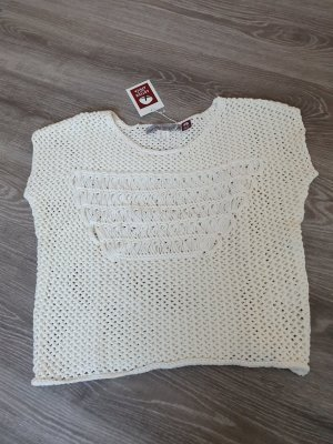 Ashley Brooke Knitted Jumper white