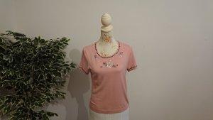 Alba Moda T-shirt rosa antico Tessuto misto