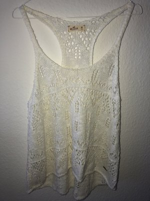Hollister Knitted Top natural white