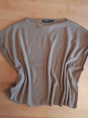 Ralph Lauren Camisa tejida color bronce-color oro