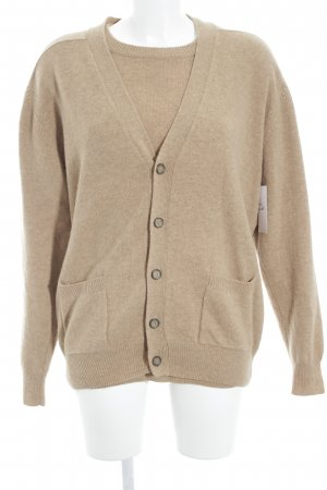 Strick Twin Set beige Casual-Look