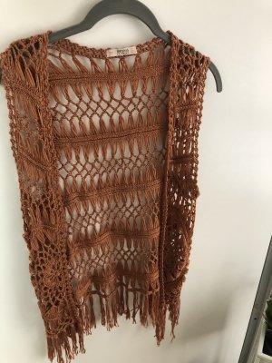Bershka Knitted Vest multicolored