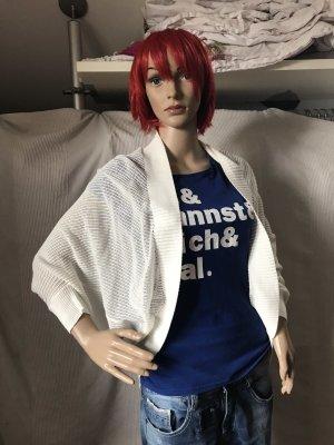 Boléro en tricot blanc cassé