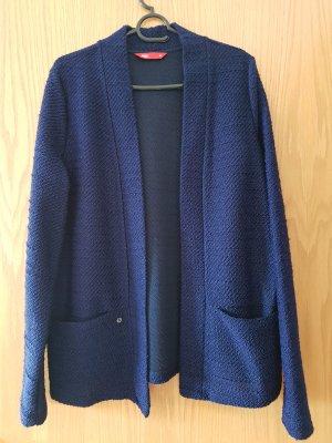 edc by Esprit Blazer en maille tricotée bleu-noir tissu mixte