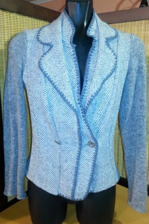 Wool Blazer multicolored viscose