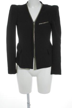 Knitted Blazer black elegant