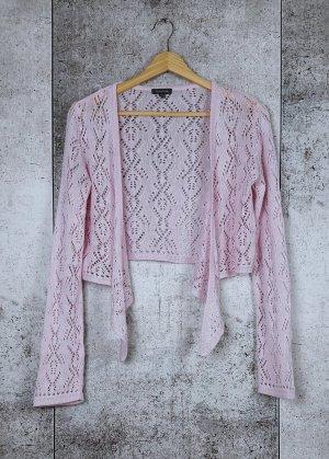 Street One Bolero lavorato a maglia rosa chiaro