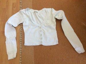 Terranova Bolero lavorato a maglia bianco Cotone