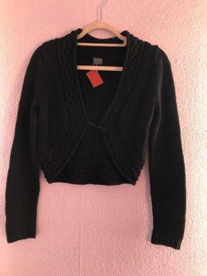 Esprit Boléro en tricot noir