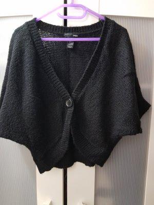 H&M Knitted Bolero black