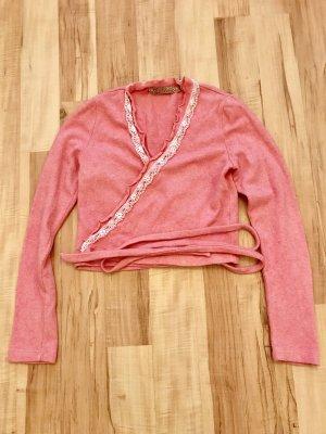 Knitted Bolero multicolored viscose