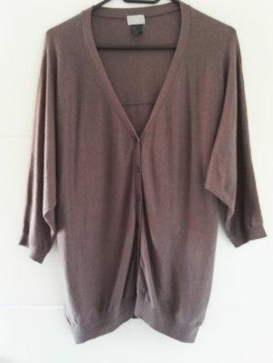 H&M Cardigan tricotés gris lilas