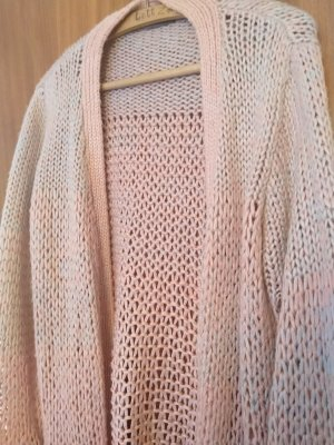 Strickcardigan in Rosé