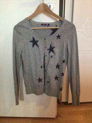 Strickcardigan mit Sternen