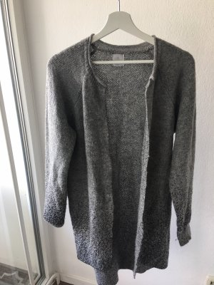 Knitted Cardigan grey-silver-colored