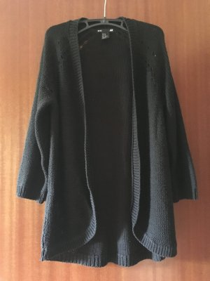 Strickcardigan schwarz H&m
