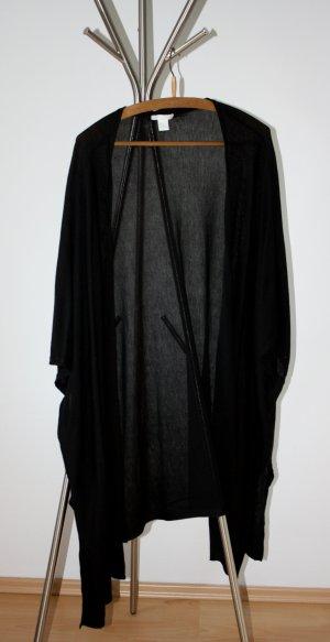 Strickcardigan - schwarz - Kimono