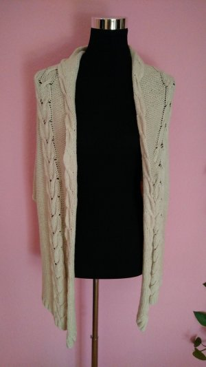 Strickcardigan/weste in beige (K2)