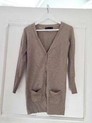 Zara Cardigan tricotés chameau