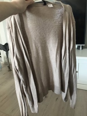 Biaggini Chaqueta estilo camisa beige-marrón