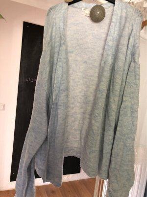 H&M Oversized jack lichtblauw