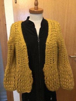 Golden Days Paris Cardigan a maglia grossa giallo-oro