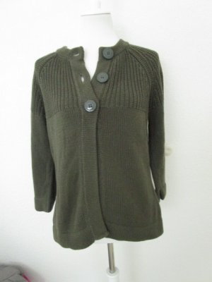 Biaggini Knitted Coat dark green