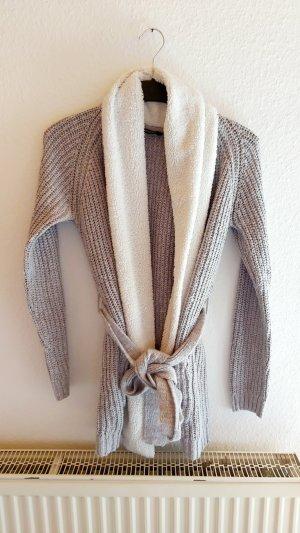 Esmara Coarse Knitted Jacket white-grey