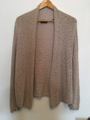 Marc O'Polo Coarse Knitted Jacket beige-gold-colored