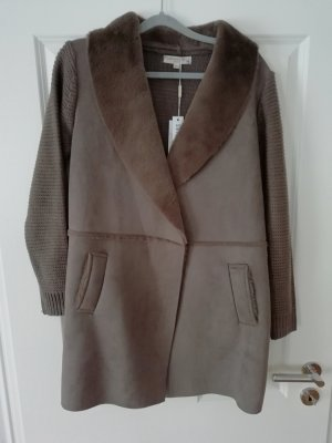 Knitted Coat camel