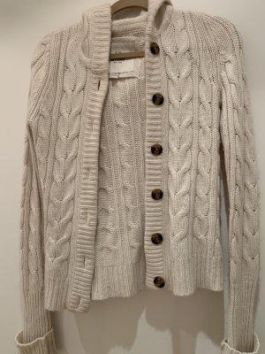 Abercrombie & Fitch Veste en laine blanc cassé