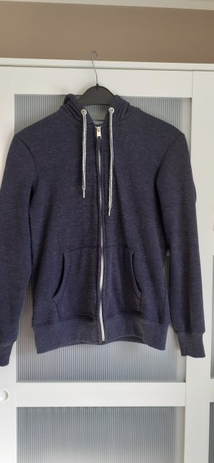 Alcott Giacca in maglia blu scuro-blu acciaio