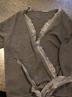 Luisa Cerano Cache-cœur en tricot noir