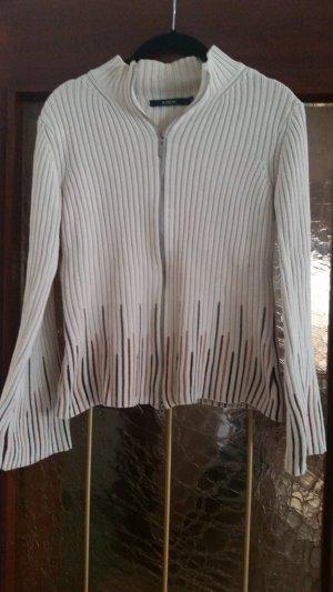 B.young Veste tricotée en grosses mailles beige clair-beige