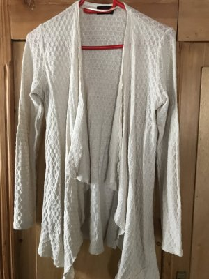 Taifun Cardigan in maglia bianco sporco
