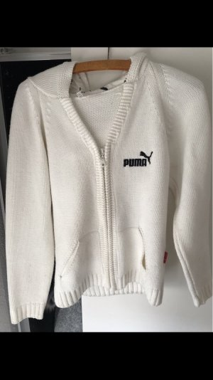 Puma Giacca fitness bianco-nero