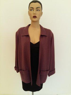 Giacca di lana grigio-lilla Lana